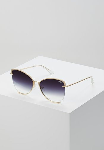 DUSK TO DAWN - Sunglasses - gold coloured/smoke