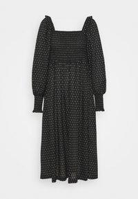 Bruuns Bazaar - ASTER SMOCK DRESS - Vestito estivo - black - 5