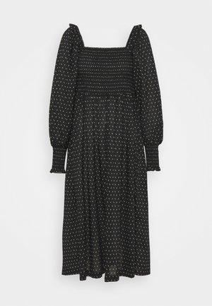 ASTER SMOCK DRESS - Day dress - black