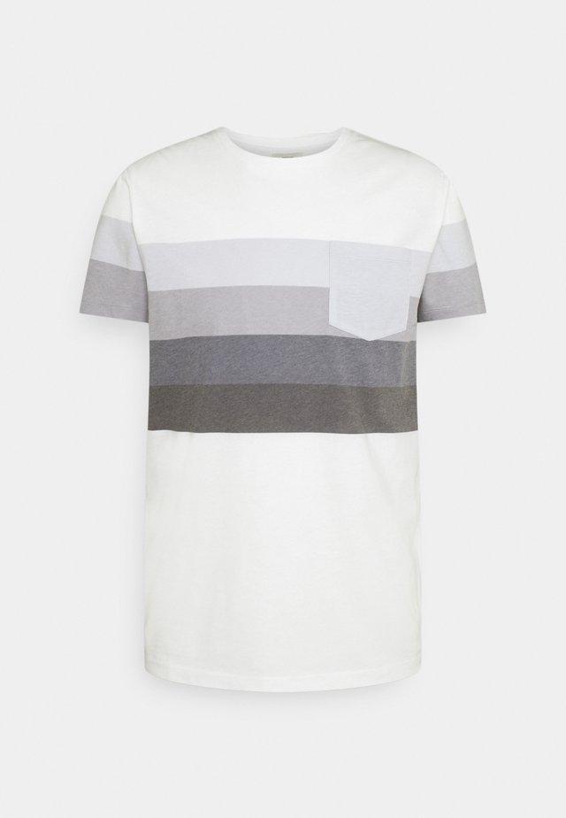 RRNOEL TEE - Camiseta estampada - dark denim
