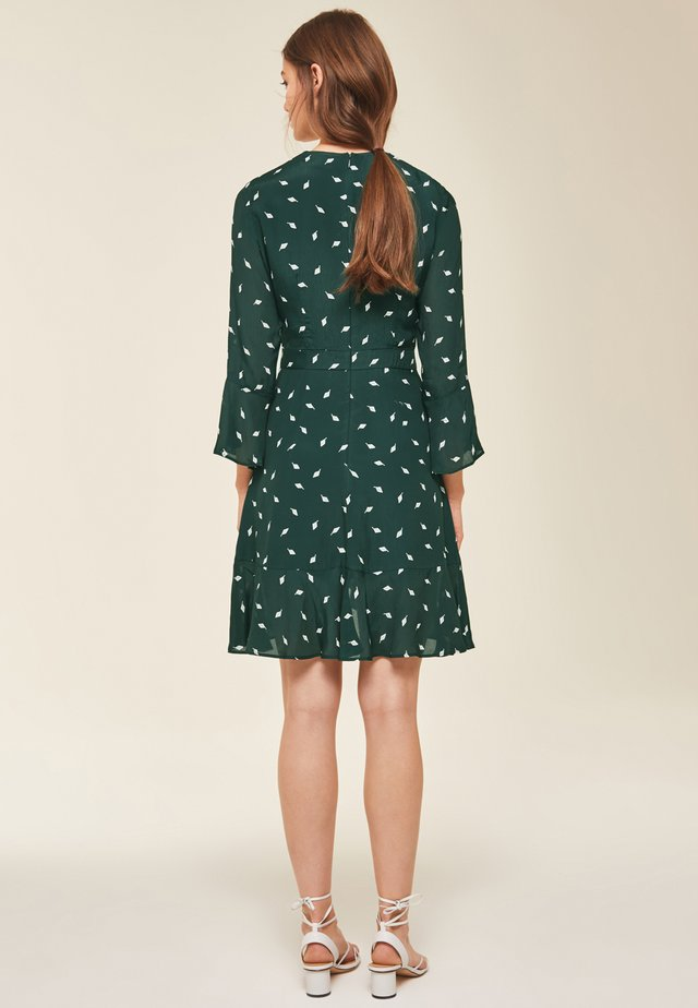 VOLANT - Day dress - green