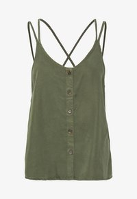 Noisy May - NMMAISIE ENDI STRAP  - Top - olive night - 3
