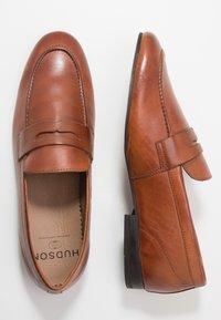 H by Hudson - BOLTON SADDLE - Mocassini eleganti - tan - 1
