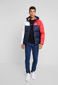 Tommy Jeans - ESSENTIAL COLORBLOCK JACKET - Winter jacket - black iris - 1
