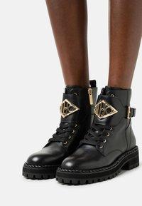 Liu Jo Jeans - BIKER - Platform ankle boots - black - 0