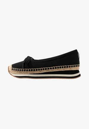 DAISY SPORT BALLET - Loafers - perfect black