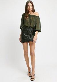Kookai - Wrap skirt - z2-noir - 1