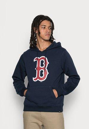 BOSTON RED SOX IMPRINT BURNSIDE HOOD - Sweater - fall navy