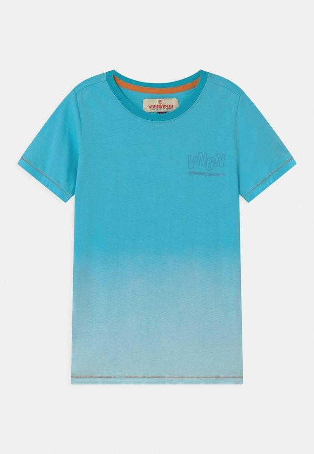 HELON - Print T-shirt - sea blue
