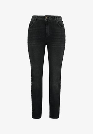 WITH SIDE DETAIL - Jeans Skinny Fit - black