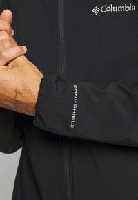 Columbia - HEATHER CANYON™ NON HOODED JACKET - Impermeable - black - 3