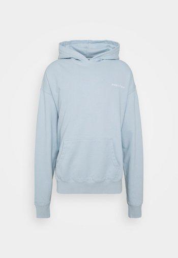 LOGO HOODIE UNISEX - Sweatshirt - washed aqua