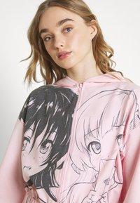 NEW girl ORDER - MANGA GIRLS ZIP HOODIE - Zip-up sweatshirt - pink - 3