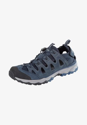 LIPARI - Walking sandals - marine