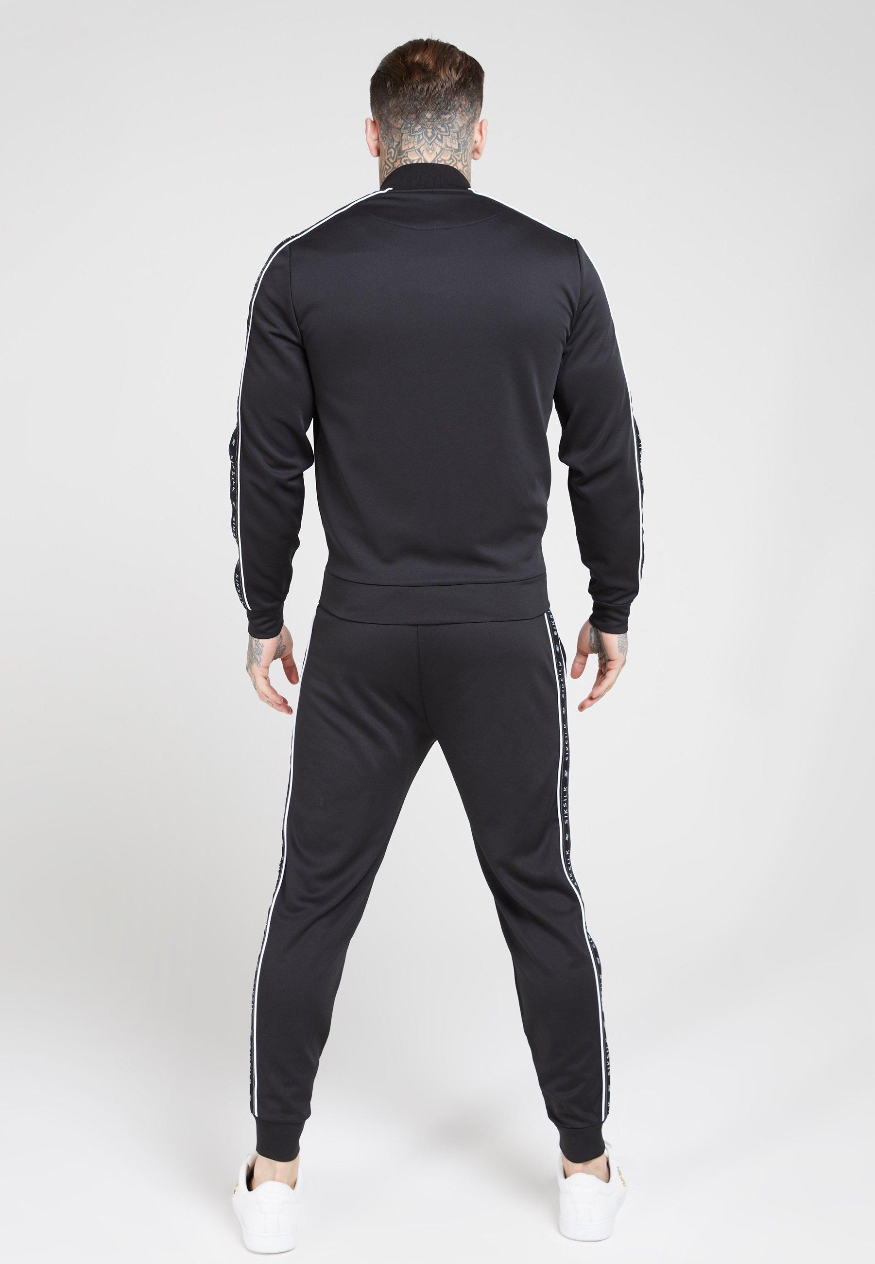 SIKSILK PANEL TAPE BOMBER - Treningsjakke - black