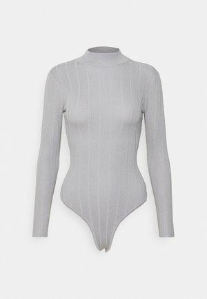 EXTREME HIGH NECK BODY - Jumper - grey