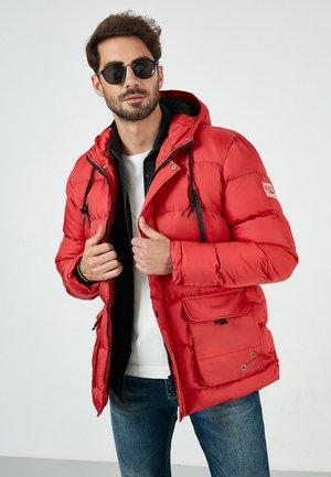 BURATTI SLIM FIT PLUSH LINING WINTER  - Down jacket - red
