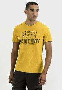 camel active - Print T-shirt - gold - 0