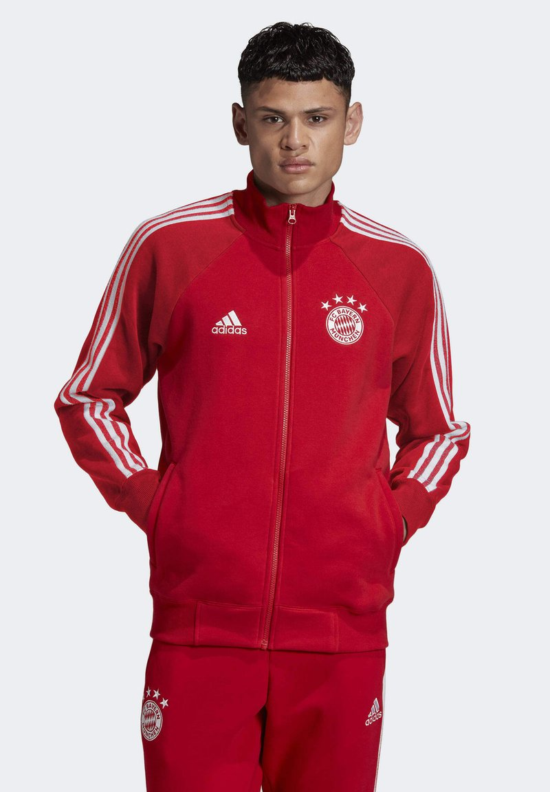 adidas Performance - FCB ICONS TOP - Training jacket - fcbtru/white