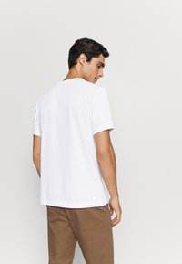 Lacoste - Print T-shirt - blanc/marine - 2