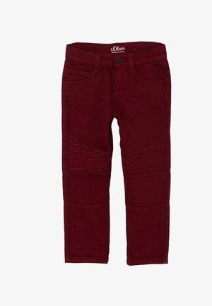 ZIERNÄHTEN - Trousers - dark pink