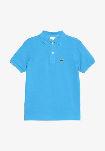 BOY SHORT SLEEVED RIBBED COLLAR