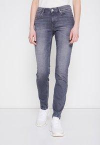 Marc O'Polo - Slim fit jeans - grey denim - 0