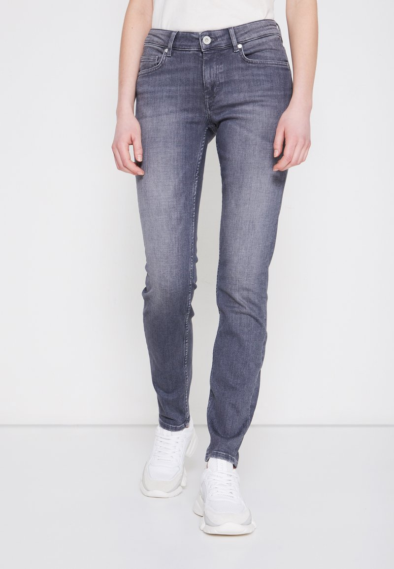 Marc O'Polo - Slim fit jeans - grey denim