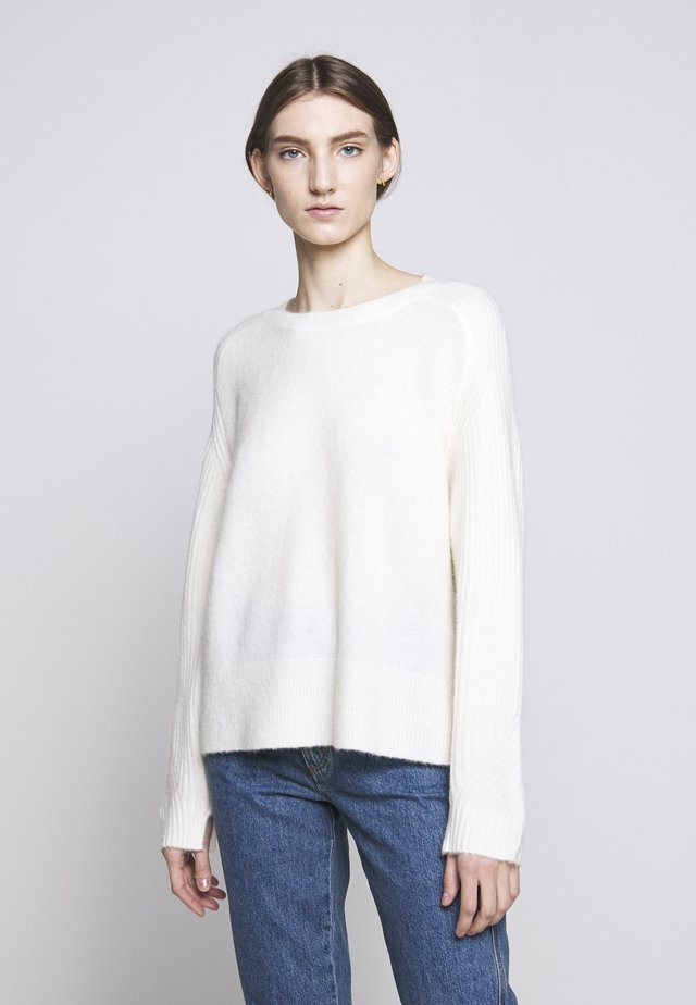ANA - Strikpullover /Striktrøjer - soft white