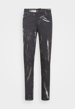 TROUSERS - Trousers - fantasy print black