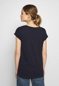 Esprit - CORE - T-shirt basic - navy - 2