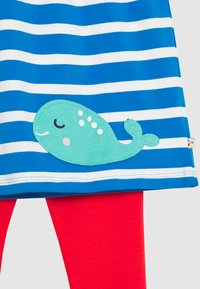 Frugi - OCEAN BABY SET - Leggings - Trousers - motosu blue - 3