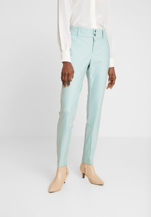 BLAKE NIGHT PANT SUSTAINABLE - Spodnie materiałowe - mint haze