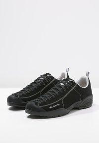 Scarpa - MOJITO UNISEX - Hiking shoes - black - 2
