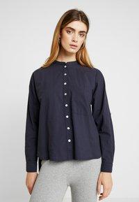 esmé studios - EMILIE - Button-down blouse - dark blue - 0