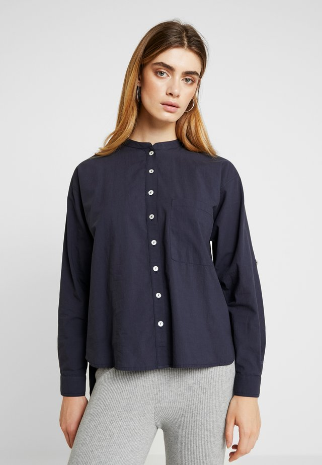EMILIE - Button-down blouse - dark blue