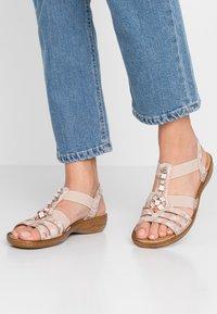 Rieker - Sandals - rosa - 0