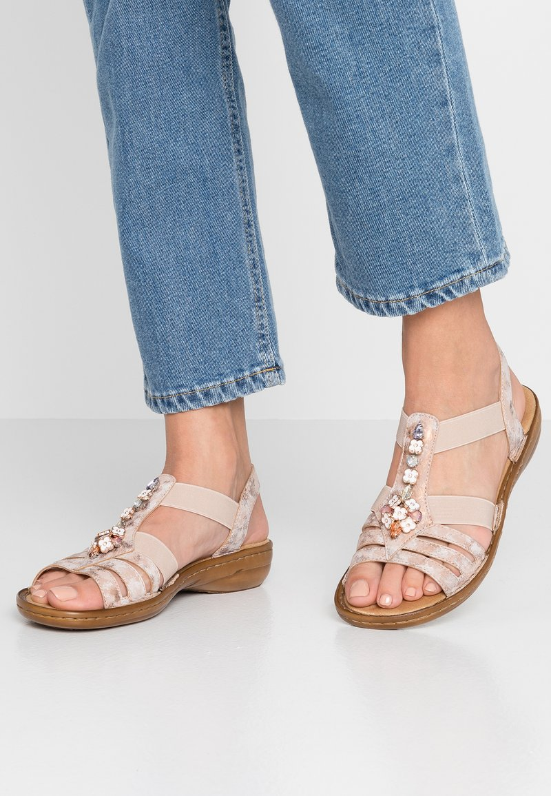 Rieker - Sandals - rosa