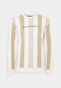 Kings Will Dream - VEDLO CREW - Sweatshirt - dark sand/white - 4