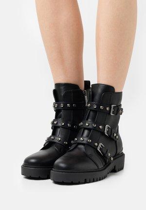 OCEA - Platform ankle boots - black