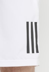 adidas Performance - CLUB SHORT - Sports shorts - white/black - 3