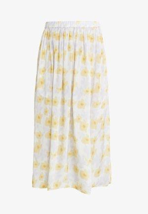 LONG SEVERIN - Áčková sukně - tapioca