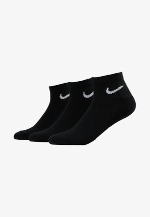 EVERYDAY CUSH 3 PACK - Sports socks - black/white