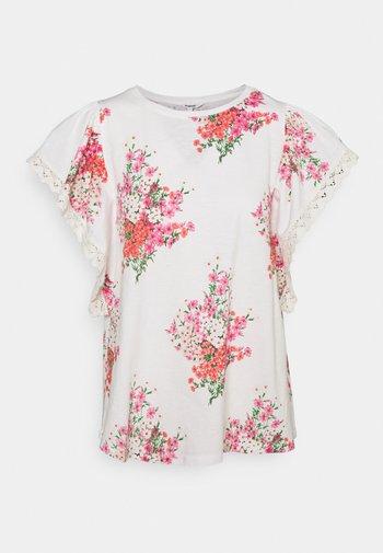 MERY - T-shirts med print - white