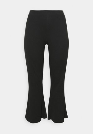 NMPASA PANTS - Trousers - black