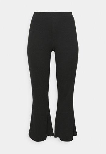 NMPASA PANTS - Kangashousut - black