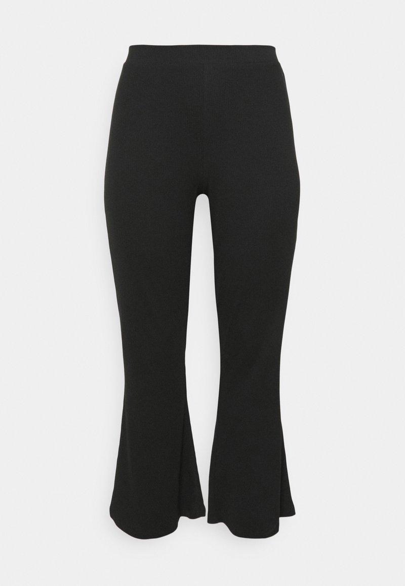 Noisy May Curve - NMPASA PANTS - Kalhoty - black