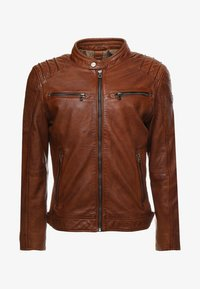 Gipsy - CAMREN LASYV - Leather jacket - cognac - 5