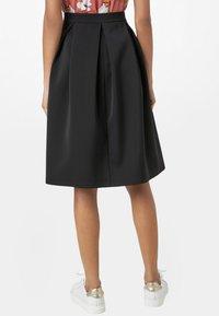 HALLHUBER - A-line skirt - black - 1