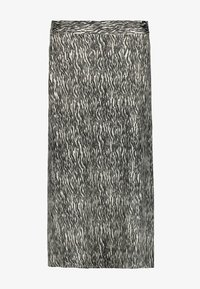 Garcia - WITH ZEBRA PRINT - A-line skirt - black - 3